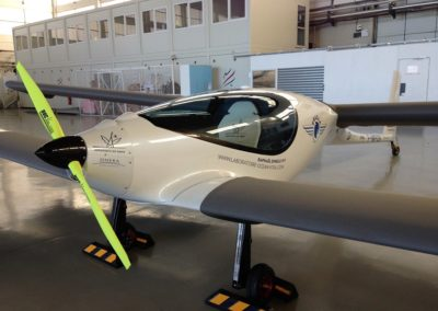 ERAOLE Hybrid electric aircraft
